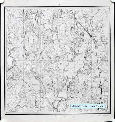 Tuusula (Topografinen kartta 1:21.000 nro IX/30)