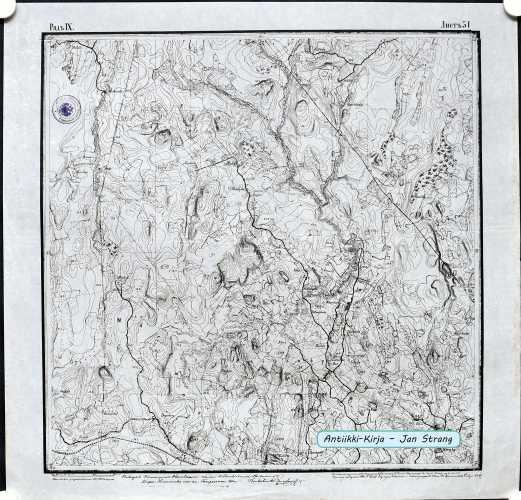 Paippinen (Topografinen kartta 1:21.000 nro IX/31)
