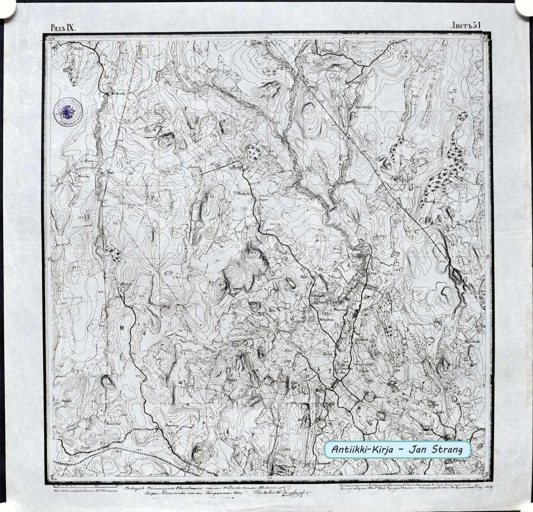 Paippinen Kartta