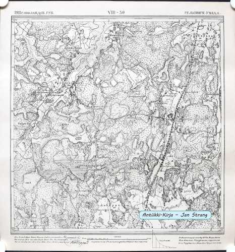 Pohjois-Vantaa ja Etelä-Tuusula (Topografinen kartta 1:21.000 nro VIII/30)