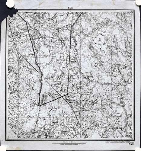 Jokela (Topografinen kartta 1:21.000 nro X/30)