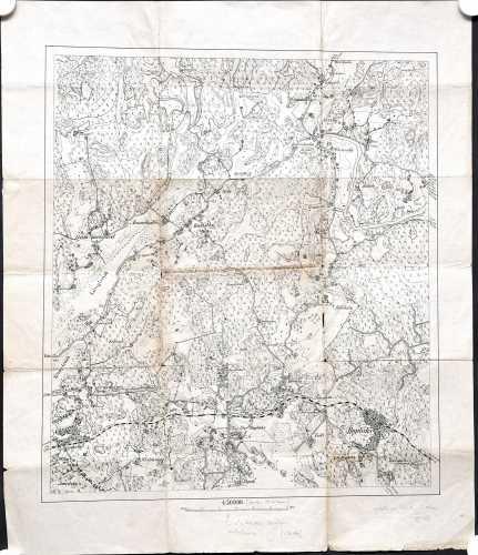Huopalahti (Topografinen kartta 1:30.000 )
