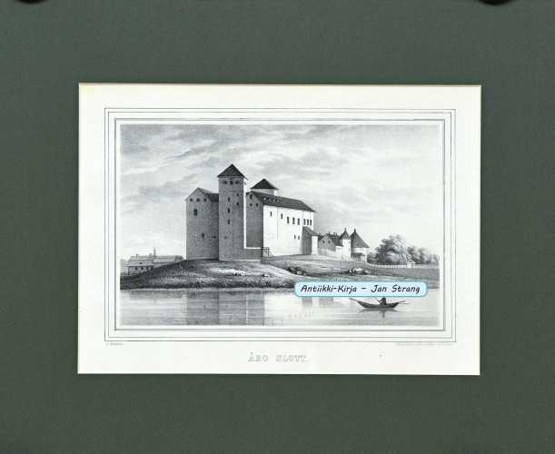 KNUTSON, J. Åbo slott. (Turun linna)