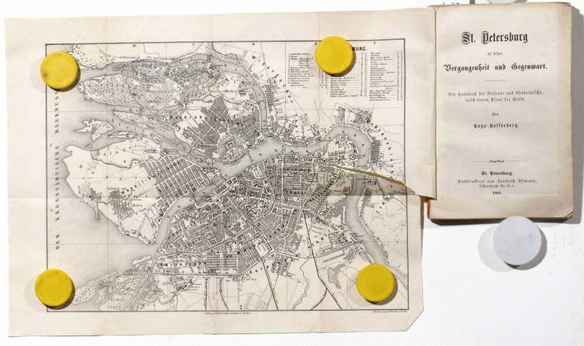 HAFFERBERG, Hugo. St. Petersburg in seiner Vergangenheit und Gegenwart
