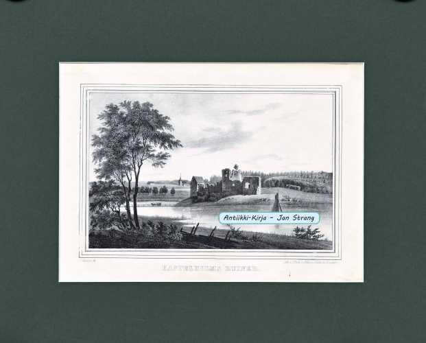KNUTSON, J. Kastelholms ruiner