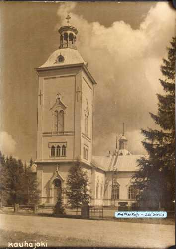 Kauhajoen vanha kirkko (valokuva)