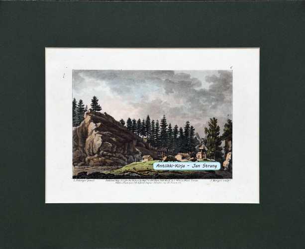 BELANGER, L. Vue pres d'Abo (näkymä Turun läheltä). 1802