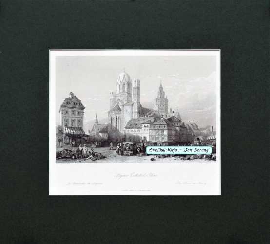 Wien. Steel-engraving by A.H. Payne