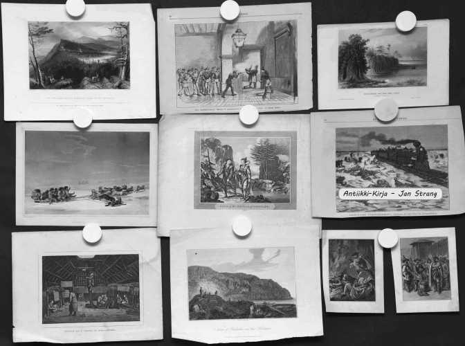 Amerikka - 1800-luvun grafiikkaa (10 kuvaa)