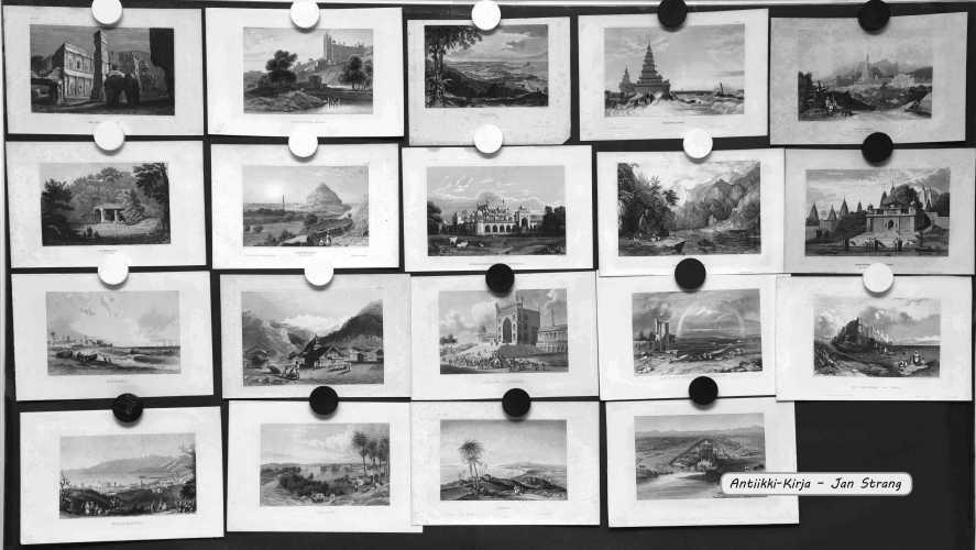 Intia ja Afganistan - 1800-luvun grafiikkaa (44 kuvaa)
