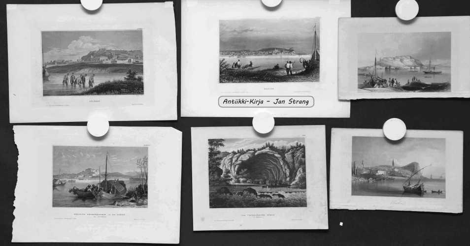 Serbia, Bulgaria ja Romania - 1800-luvun grafiikkaa (12 kuvaa)