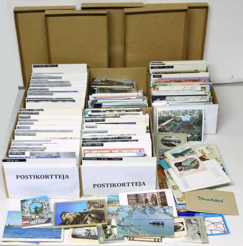 Postikortteja - kokoelma (yli 2000 kpl)