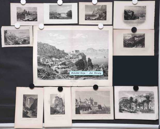 Espanja ja Portugali - 1800-luvun grafiikkaa (11 kuvaa)