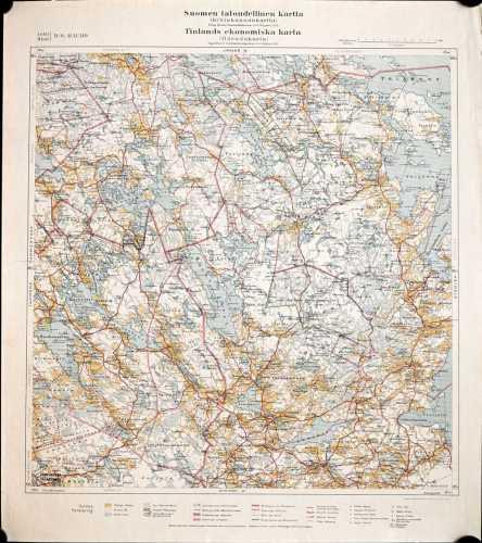 Hauho (Suomen taloudellinen kartta IV/6)
