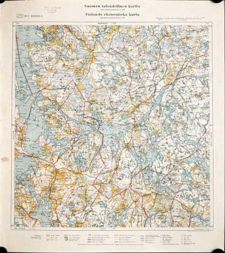 Heinola (Suomen taloudellinen kartta IV/7)