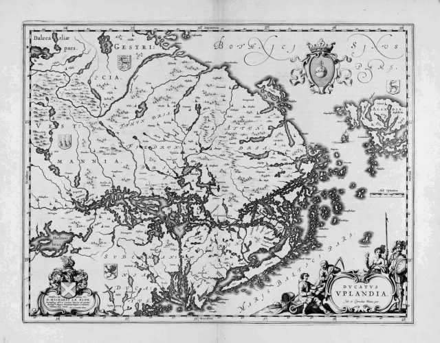 BLAEU, J. Ducatus Uplandia. 1638-