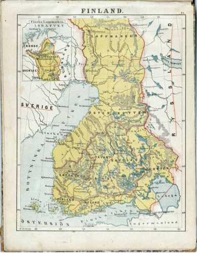 T. A. von Mentzers kartbok för skolans lägre klasser