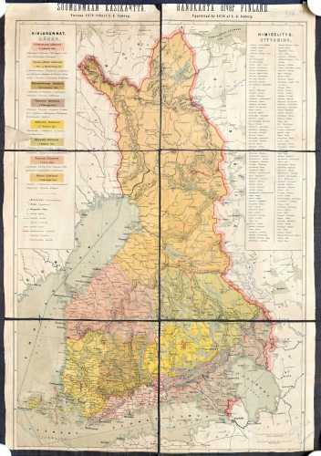 Inberg, I.J. Suomenmaan käsikartta