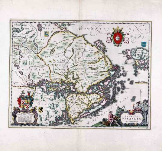 BLAEU, J. Ducatus Uplandia. 1650-