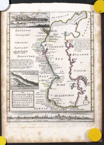 MOLL, H. The Caspian Sea. 1727