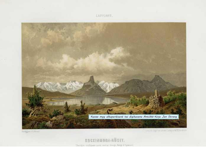 PETTERSSON, C. A. Kockinmoda-röset (Kolmen valtakunnan rajapyykki Kilpisjärvellä)