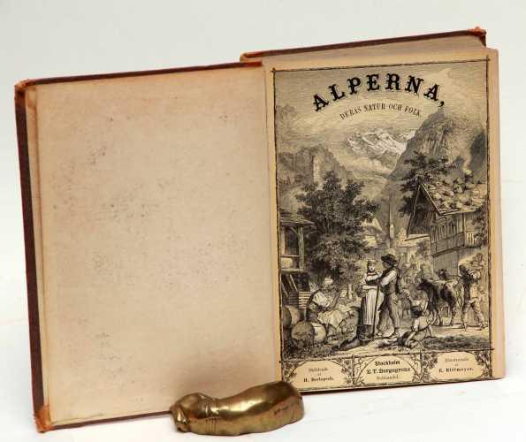 BERLEPSCH, H. Alperna. deras natur och folk