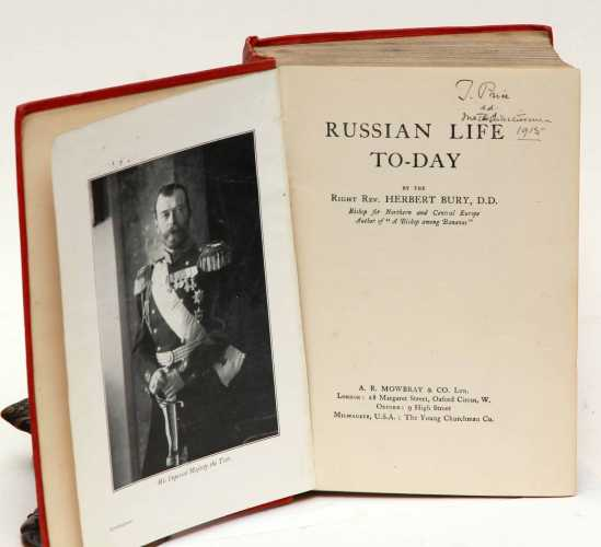 Bury, H. (bishop). Russian Life To-day