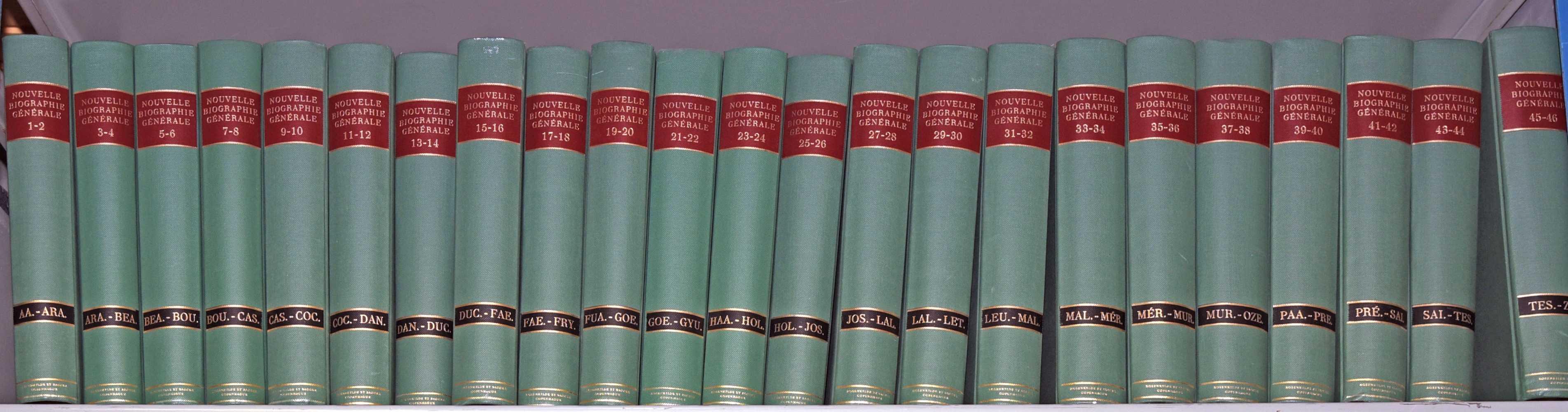 Nouvelle Biographie Générale 1-46