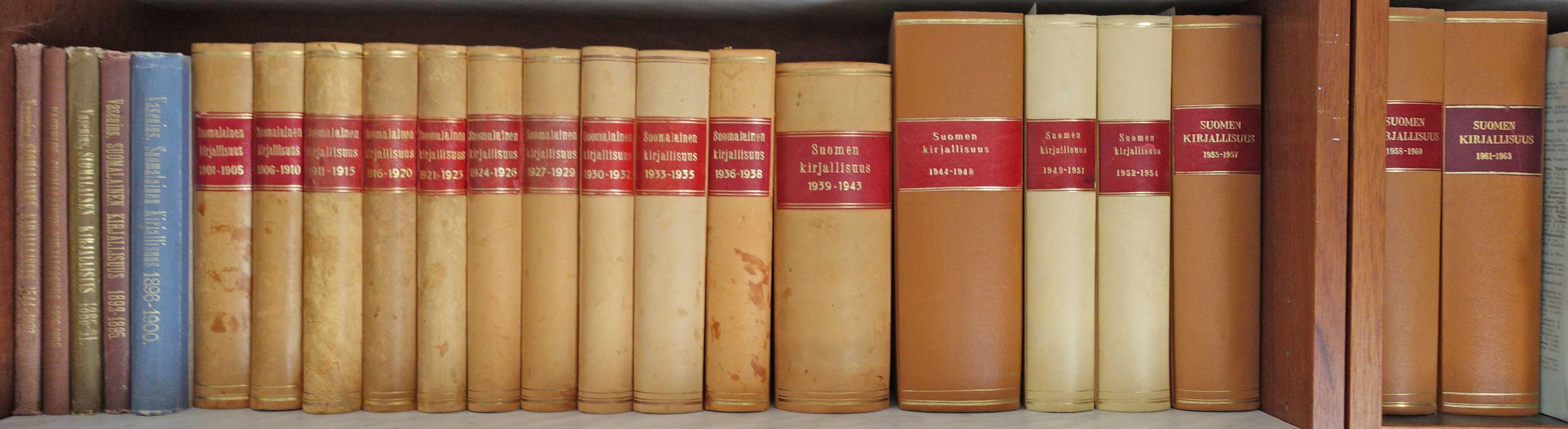 Suomalainen/Suomen kirjallisuus 1544-1963
