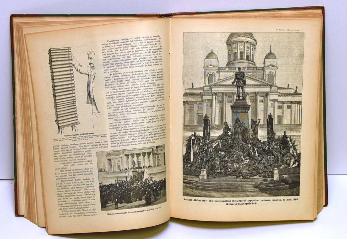 Kyläkirjaston kuvalehti. Vuosikerrat 1898-1903