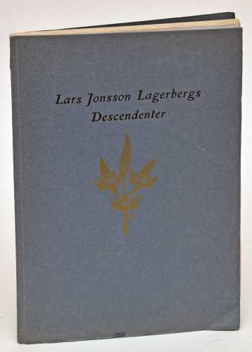 Lars Jonsson Lagerbergs descenter.