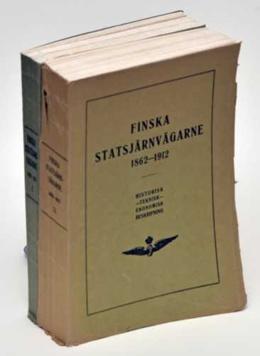 Finska statsjärvägarne 1862-1912. I-II.