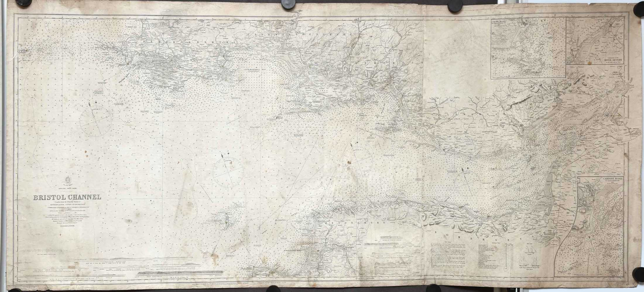 England - West Coast. Bristol Channel