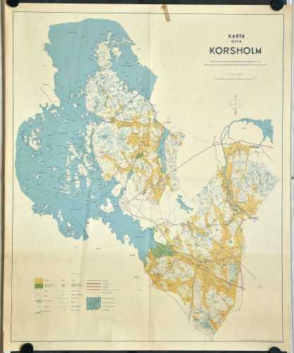 Karta över Korsholm