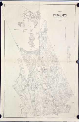 Karta över Petalax