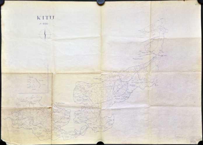 Kitö - rekisterikartta