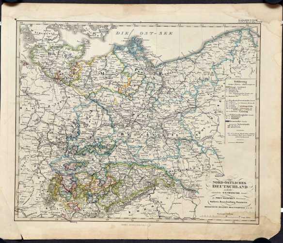 Stieler, Ad. Nord-östliches Deutschland