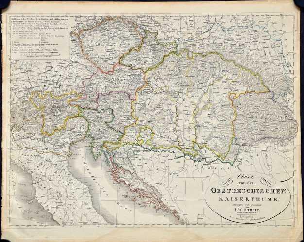 Streit, F.W. Charte von dem Oesterreichischen Kaiserthum