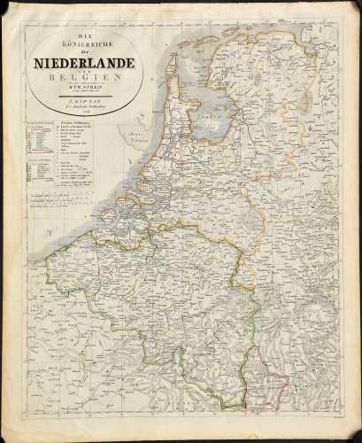 Streit, F.W. Die Königreiche der Niederlande und Belgien.