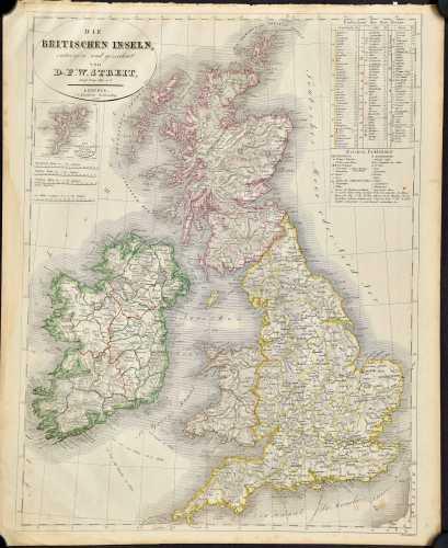 Streit, F.W. Die Britischen Inseln.