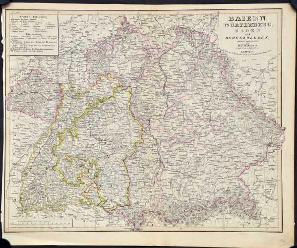 Streit, F.W. Die Königreiche Baiern u. Würtemberg,