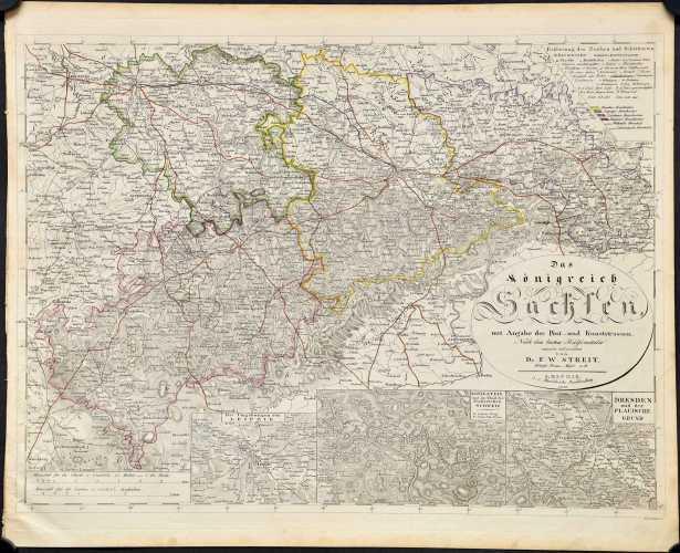 Streit, F.W. Das Königreich Sachsen