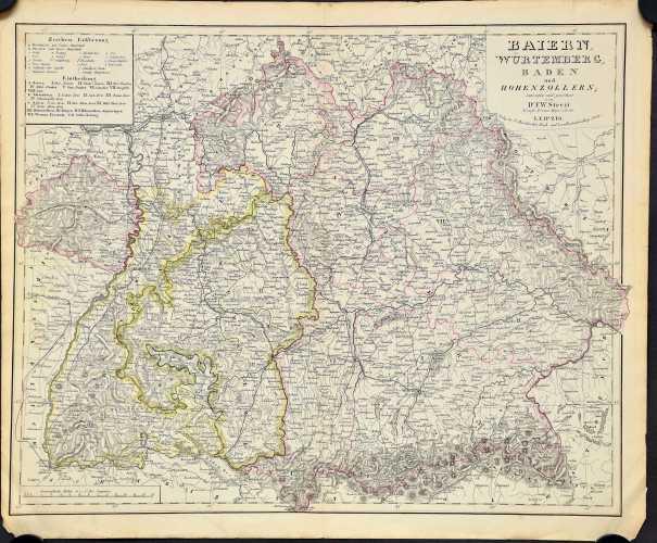Streit, F.W. Baiern, Würtemberg, Baden und Hohenzollern.