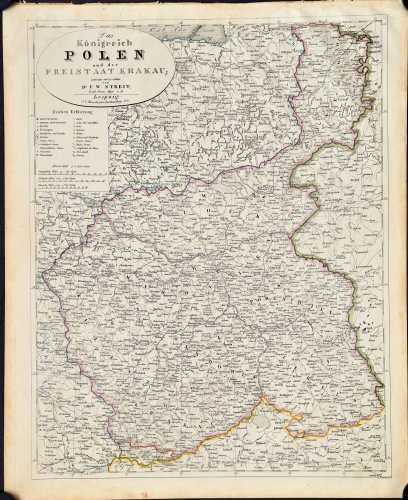 Streit, F.W. Das Königreich Polen und der Freistaat Krakau.