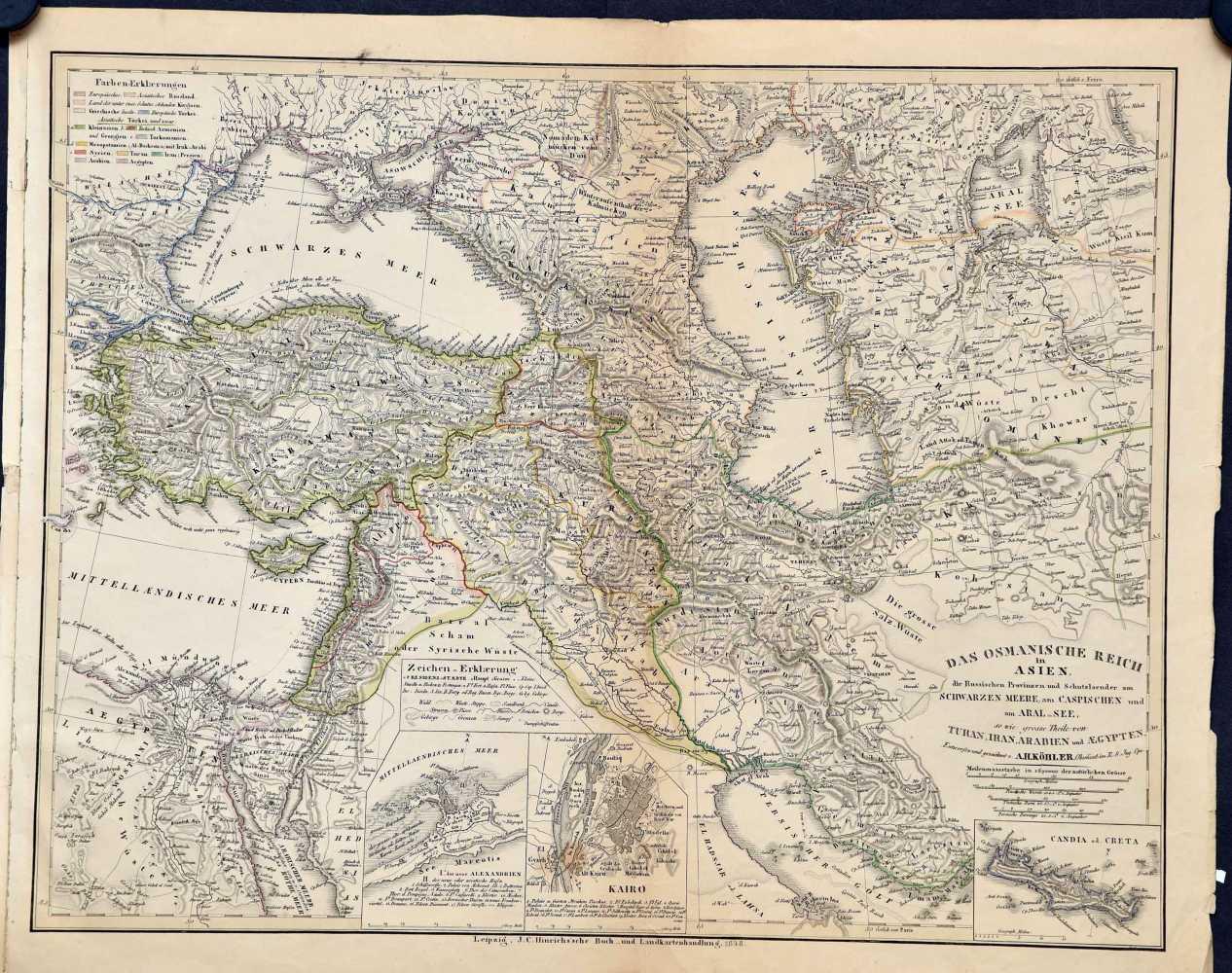 Köhler, A.H. Das Osmanische Reich in Asien