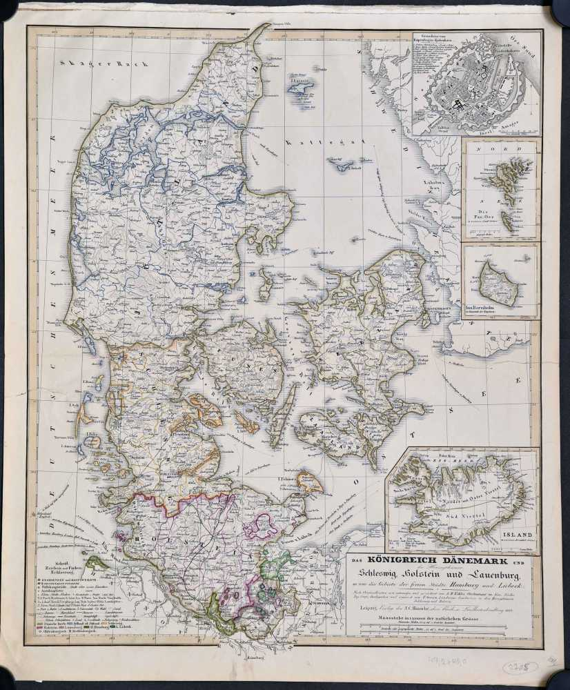 Köhler, A.H. Das Königreich Dänemark