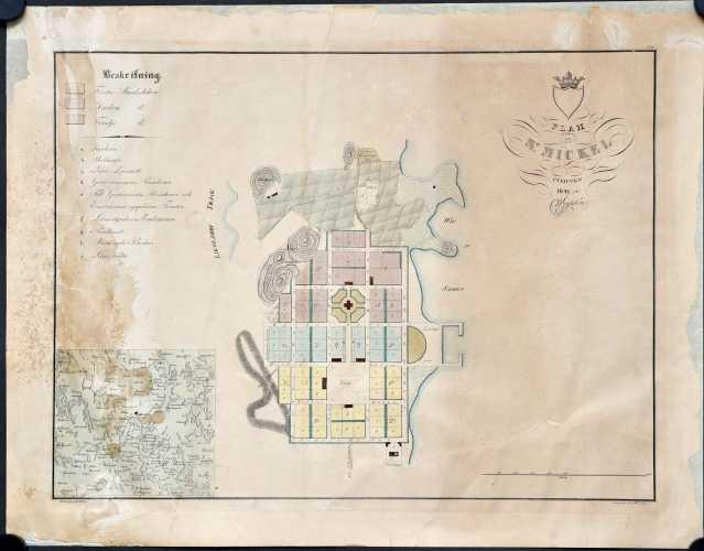 Gyldén, C.W. Plan af St. Michel.