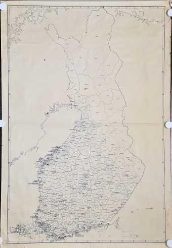 Suomen tilastopohjakartta 1:1.000.000