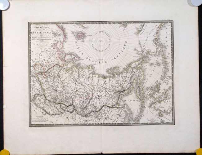 Brué, A.H. Carte Générale de la Russie d'Asie