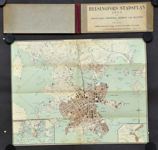 Helsingfors stadsplan 1893